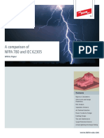 A comparison of NFPA 780 and IEC 62305
