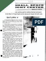 Saturn v NASAs Largest Vehicle