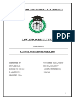 law and agriculture project