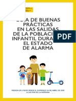 Salidas población infantil