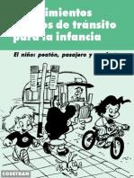 Conocimientos Básicos de Tránsito para la Infancia