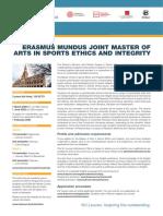 Sports & Ethics Brochure