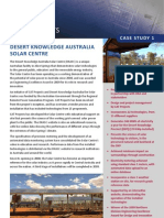 DESERT KNOWLEDGE AUSTRALIA SOLAR CENTRE Brochure