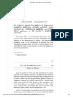 Dr. Joseph l. Malixi, et al. vs. Dr. Glory V. Baltazar