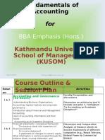 Accounting & Governance -1