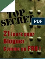 """""""21 Jours Pour Bloguer Comme Un Pro"""" ConseilsMarketing.fr & MaBoiteCartonne.com"""