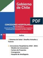 Presentación, Hospitales Concesionados Mauricio Marquez 07-12-2010