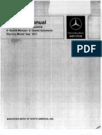 Mercedes w123 Mb SERVICE Manuals