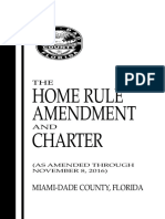 The Home Rule Amendment and Charter