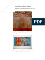 Christiane Paul on the computer-robotic assisted paintings of Joseph Nechvatal (2003)