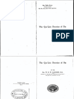 Gardner - The Qur'anic Doctrine of Sin