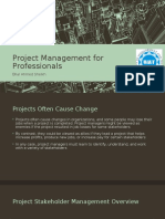 Stakeholder Management In Projects