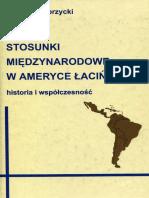 Stosunki międzynarodowe w Ameryce Łacińskiej, W. Dobrzycki.pdf