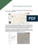 Cómo hacer un mapa personalizado con Google Maps