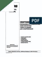 Air Compressor Manual Craftsman