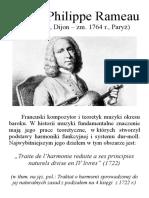 Rameau - portrait