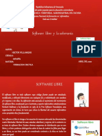 Software Libre y La Soberanía Hector Villamizar 29674684 Sid1d