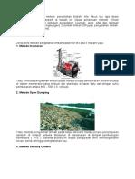 Sebelum menentukan metode pengolahan limbah.docx