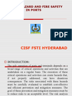 Process,hazard & Fire safety in ports