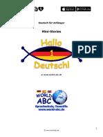 00 Hallo Deutsch 1 - Mini-Stories