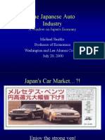 The Japanese Auto Industry