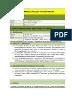 analisis sentencia 14 de febrero 2020 probatorio