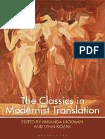 The Classics in Modernist Translation