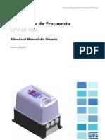 WEG Cfw 08 Wash Adendo Al Manual Del Usuario 10000155039 Manual Espanol