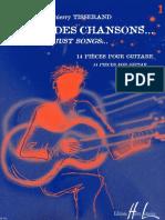 Thierry tisserand - Comme des chansons Vol 1 (Ed. Henri Lemoine) - By Guitar-a-Dada.pdf