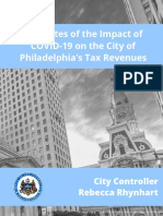 Controllers Office Fiscal Impact of COVID-19
