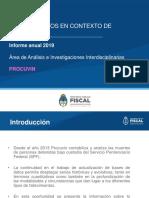 PPROCUVIN PGN Informe Muertes 2019