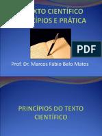 PRINCÍPIOS DO TEXTO CIENTÍFICO