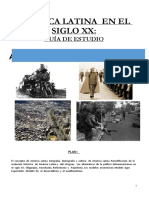 América Latina en el siglo XX. Guía de estudio.