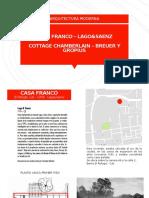 CASA FRANCO – COTTAGE CHAMBERLAIN