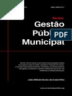 Revista Gestão Pública Municipal - abril 2019
