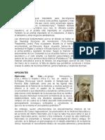 BIOGRAFIAS MOISÉS, HIPOCRATES, ARISTOTELES