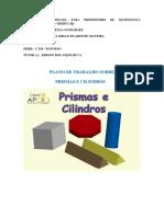 planejamento pirâmides e cilindro internet