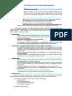 Clasificación diagnosticas de las lesiones pulpares y periapicales.