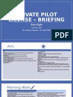 Briefing 10A Slow Flight.pptx