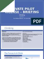 Briefing 7 Climbing