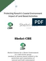 Protecting Karachi's Coastal Environment Impact of Land Based Activities - 17 June 2010