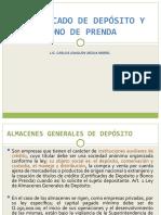 CERTIFICADO DE DEPÓSITO Y BONO DE PRENDA.ppt