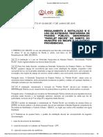 PARKLET - Decreto 28886 2015 de Recife PE