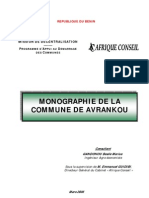 Monographie Avrankou