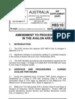 Austrlia AIP SUP H83-10 Avalon