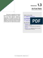 1.3 Air-Fuel Ratio