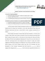 ACCOMPLISHMENT REPORT (APRIL-JUNE)