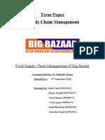 Food Supply Chain of Big Bazaar