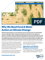 Why We Need Food & Water Action on Climate Change