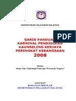 Garis Panduan Karnival Kaunseling 2008